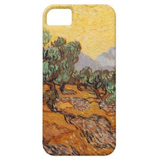 Capa Para iPhone 5 As oliveiras de Vincent van Gogh (Azeitonas trees)