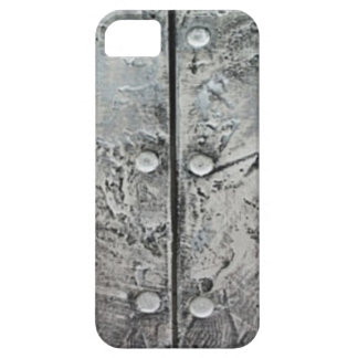 Capa Para iPhone 5 Caixa de aço Textured cinzas do iPhone 5 do teste
