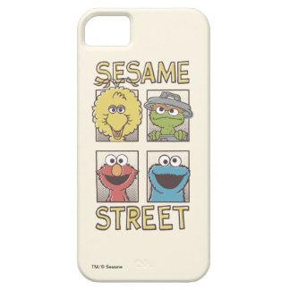 Capa Para iPhone 5 Caráter de StreetVintage do sésamo cómico