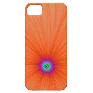 Capa Para iPhone 5 Caso do iPhone 5 da explosão da cor da tangerina