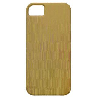 Capa Para iPhone 5 Caso metálico do iPhone 5 do teste padrão do ouro