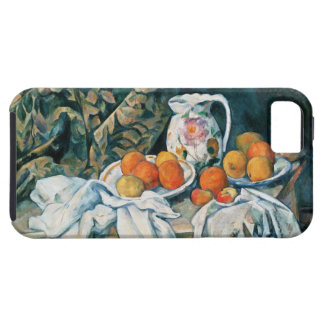 Capa Para iPhone 5 De Cezanne cortina da vida ainda, jarro