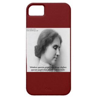 Capa Para iPhone 5 Helen Keller & surdos/cortinas citam o caso do