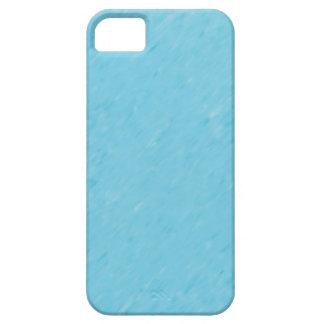Capa Para iPhone 5 Luz - caixa azul do iPhone 5 do teste padrão