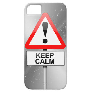 Capa Para iPhone 5 Mantenha a calma