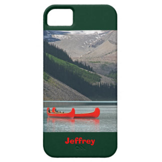 Capa Para iPhone 5 montanhas do caso do iPhone SE/5/5s & canoas