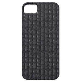 Capa Para iPhone 5 olhar de couro cinzento cinzento do caso do iPhone