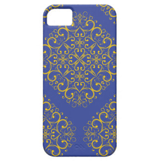 Capa Para iPhone 5 ornamento floral iphone5 do oceano azul