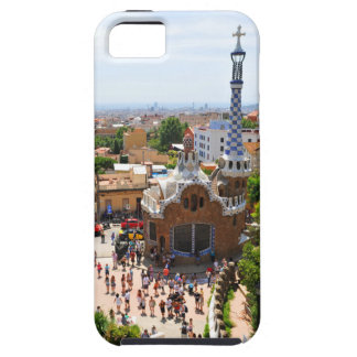 Capa Para iPhone 5 Parque Guell em Barcelona, espanha