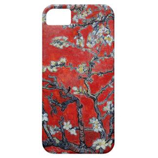 Capa Para iPhone 5 Ramos de Vincent van Gogh com vermelho da flor da