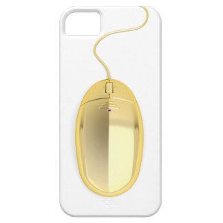 Capa Para iPhone 5 Rato dourado do computador