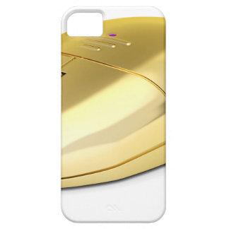 Capa Para iPhone 5 Rato sem fio dourado