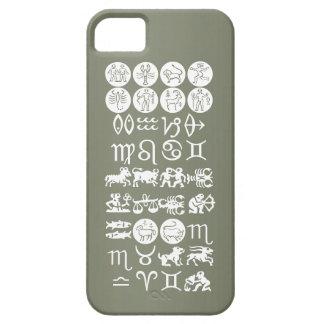 Capa Para iPhone 5 Símbolo da astrologia do zodíaco: Encanto de