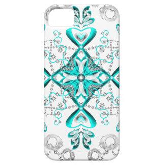 Capa Para iPhone 5 Sparkles azuis