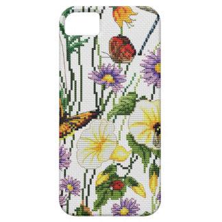 Capa Para iPhone 5 Telefone bordado   floral 5/5S, mal lá