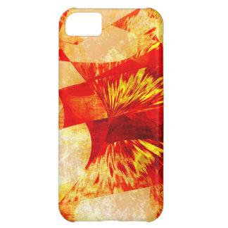Capa Para iPhone 5C Abstrato da laranja