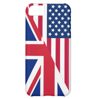 Capa Para iPhone 5C Americano e caso do iPhone 5C da bandeira de Union