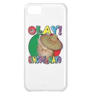 Capa Para iPhone 5C Bandeira de Cinco de Mayo de México