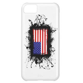 Capa Para iPhone 5C Caso do iPhone 5 da bandeira dos Estados Unidos