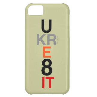 Capa Para iPhone 5C Caso do iPhone 5 da modificação de UKRE8IT (você o
