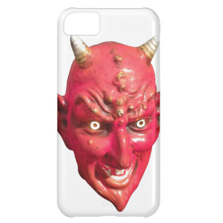 Capa Para iPhone 5C Chifres do inferno do demónio da satã do diabo