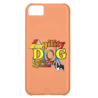 Capa Para iPhone 5C English_Toy_Spaniel_Agility
