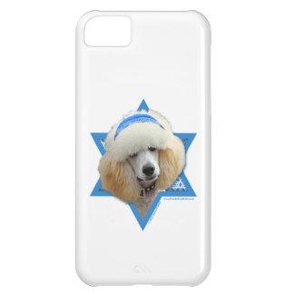 Capa Para iPhone 5C Estrela de David de Hanukkah - caniche - abricó