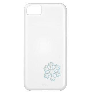 Capa Para iPhone 5C Floco de neve pequeno do grânulo a adicionar a