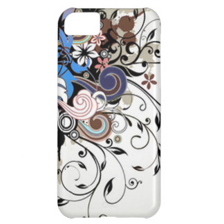 Capa Para iPhone 5C Floral