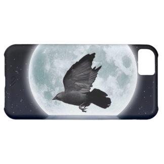 Capa Para iPhone 5C Jackdaw do vôo, design do Corvo-amante