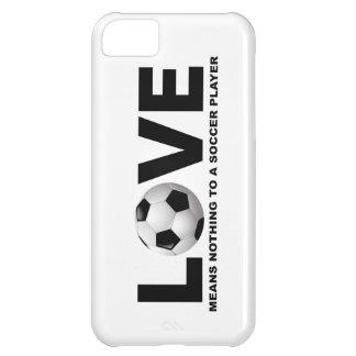 Capa Para iPhone 5C O amor não significa nada a um iPhone 5 do jogador