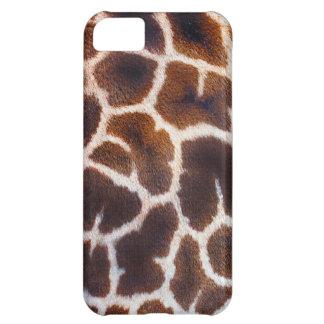 Capa Para iPhone 5C Olhe do efeito de pele do girafa de África