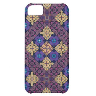Capa Para iPhone 5C Ornamento de talavera do mosaico do vintage