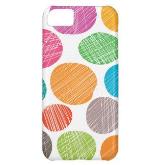 Capa Para iPhone 5C Pontos coloridos do divertimento