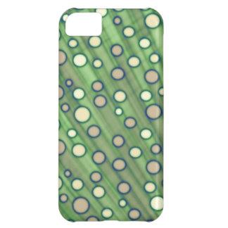 Capa Para iPhone 5C Pontos verdes