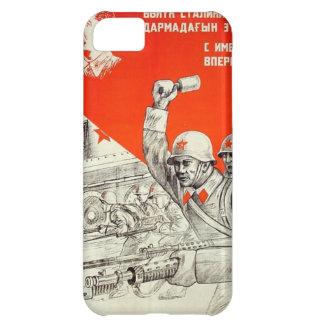 Capa Para iPhone 5C Propaganda do russo WWII