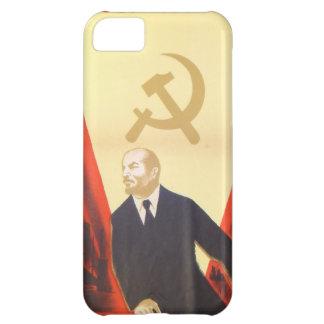 Capa Para iPhone 5C Propaganda francesa do comunista do vintage