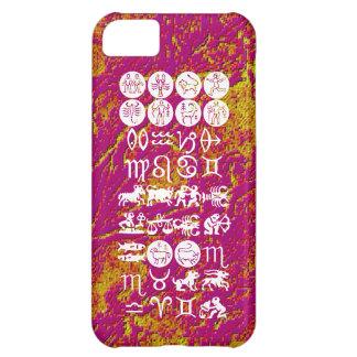 Capa Para iPhone 5C Símbolo da astrologia do zodíaco: Encanto de
