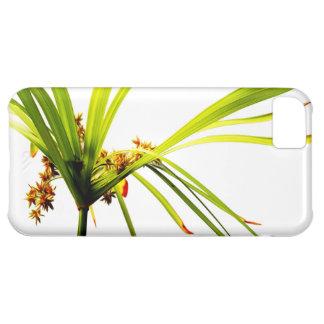 Capa Para iPhone 5C Teste padrão botânico elegante