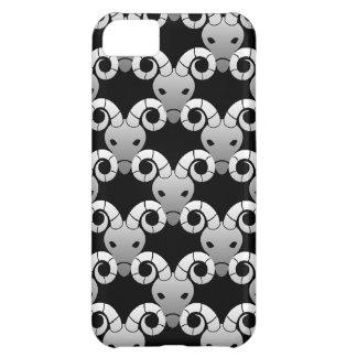 Capa Para iPhone 5C Teste padrão do zodíaco da ram de Airies