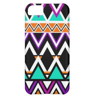 Capa Para iPhone 5C Teste padrão tribal multicolorido