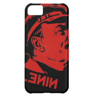 Capa Para iPhone 5C Trabalhos de arte pretos & vermelhos do comunista