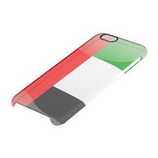 Capa Para iPhone 6/6S Transparente Bandeira lustrosa de United Arab Emirates