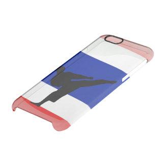 Capa Para iPhone 6/6S Transparente Bandeira lustrosa tailandesa