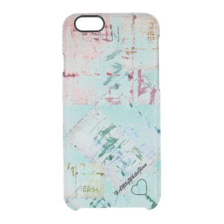 Capa Para iPhone 6/6S Transparente Caixa do defletor de HAMbWG 6/6s Clearly™ - Aqua X