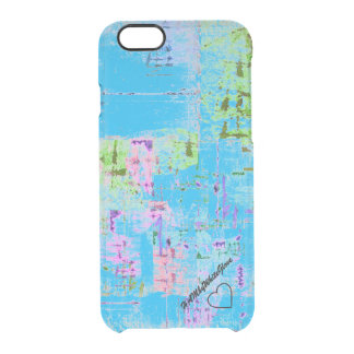 Capa Para iPhone 6/6S Transparente Caixa do defletor de HAMbWG 6/6s Clearly™ - X azul