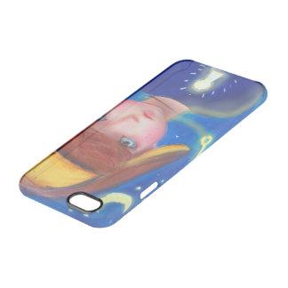 Capa Para iPhone 6/6S Transparente Caso triste do iphone 6/6s do menino