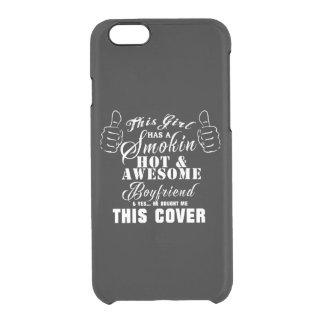 Capa Para iPhone 6/6S Transparente Cobrir da menina