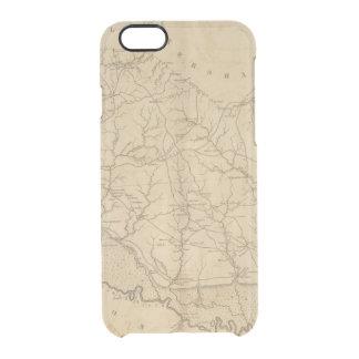 Capa Para iPhone 6/6S Transparente Distrito de Richland, South Carolina
