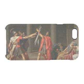 Capa Para iPhone 6/6S Transparente O juramento de Horatii, 1784